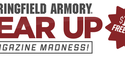 SPRINGFIELD ARMORY GEAR UP! 4 Mags, A Right Hand Holster, and a Mag Pouch a $180 value all FREE (02/01/2017-06/30/2017)
