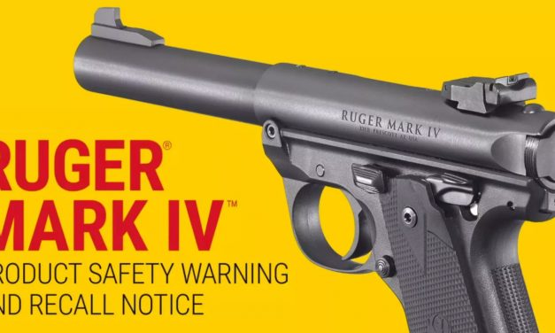 Recall Notice: RUGER Mark IV