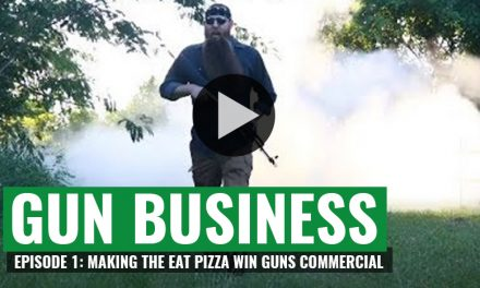 Liberty Tree Gun's Vlog Episode 1 – Making of the Eat Pizza Win Guns Commercial
