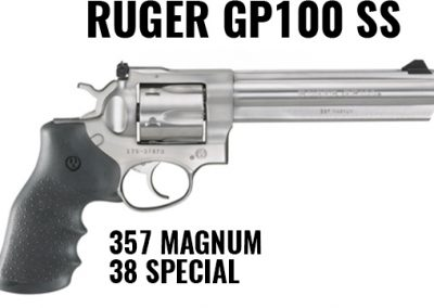 Ruger GP100 SS