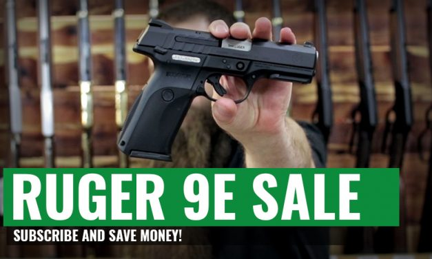 RUGER 9E 9mm Pistol ONLY $239.95!!