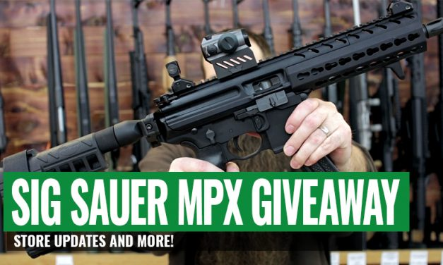 Sig Sauer MPX Giveaway