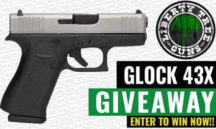 Anniversary Giveaway! WIN A Glock 43x!